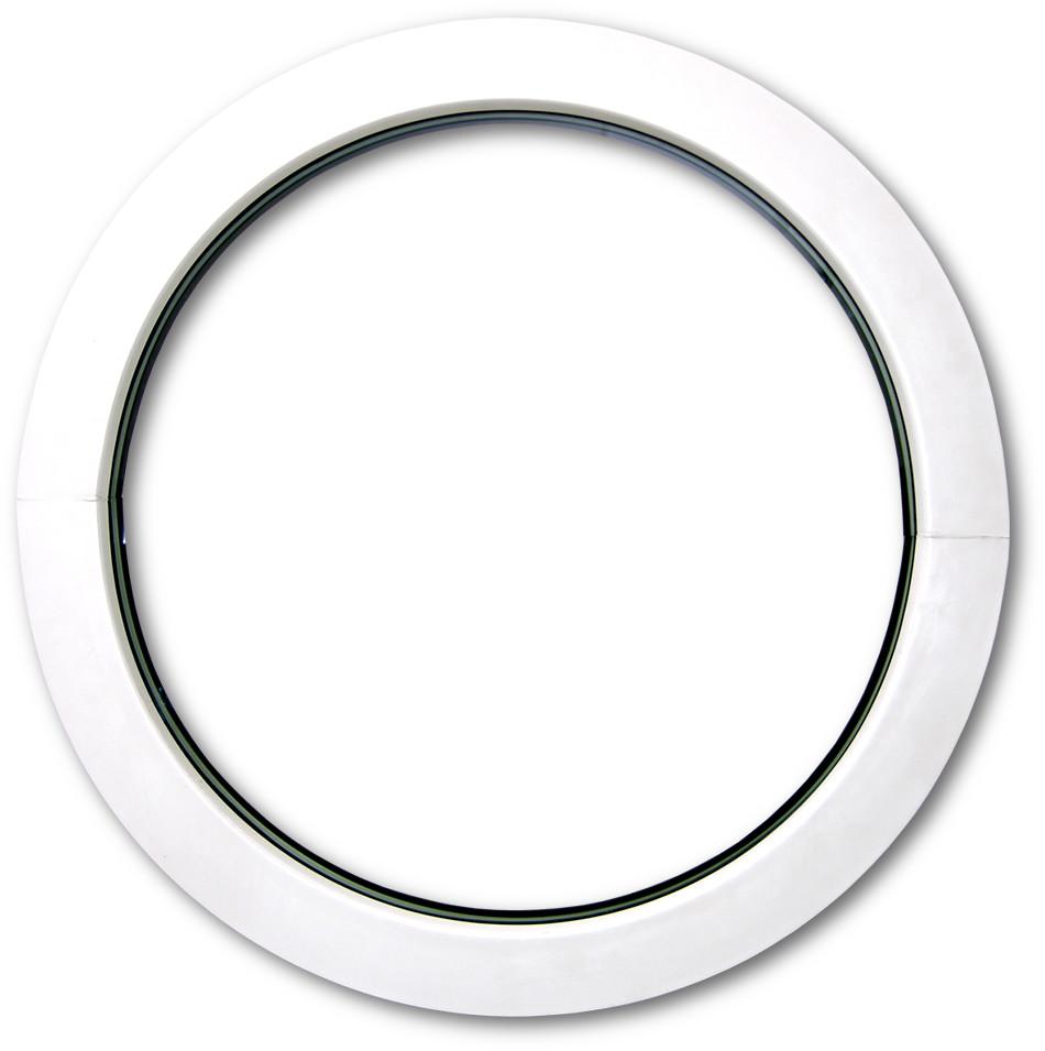 rundfenster 3 fach verglasung veka profil rundes fenster rund bullauge fest ebay. Black Bedroom Furniture Sets. Home Design Ideas