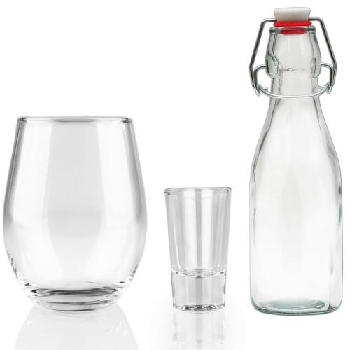 Glas Eigenmarke